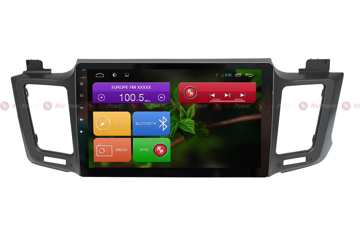Магнитола Тойота РАВ4 2012+ автомагнитола Redpower 31017 R IPS Android