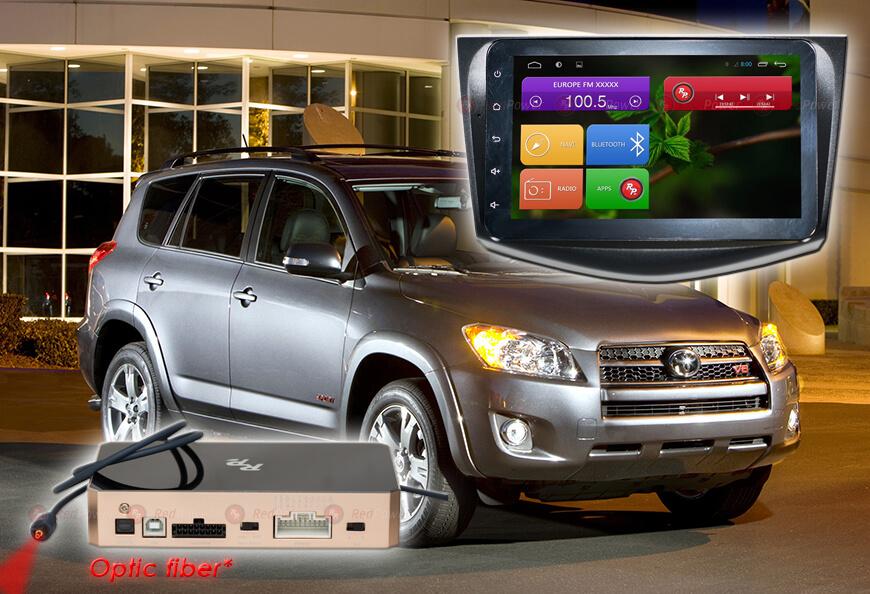 Штатное головное устройство Toyota Rav 4 2007-2012 автомагнитола Redpower 31018 IPS