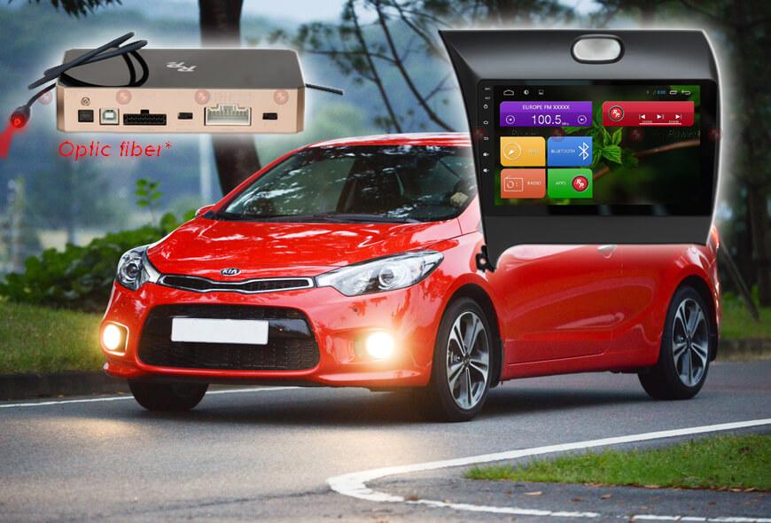 Штатное головное устройство Киа Серато Camry V55 автомагнитола Redpower 31032 R IPS android