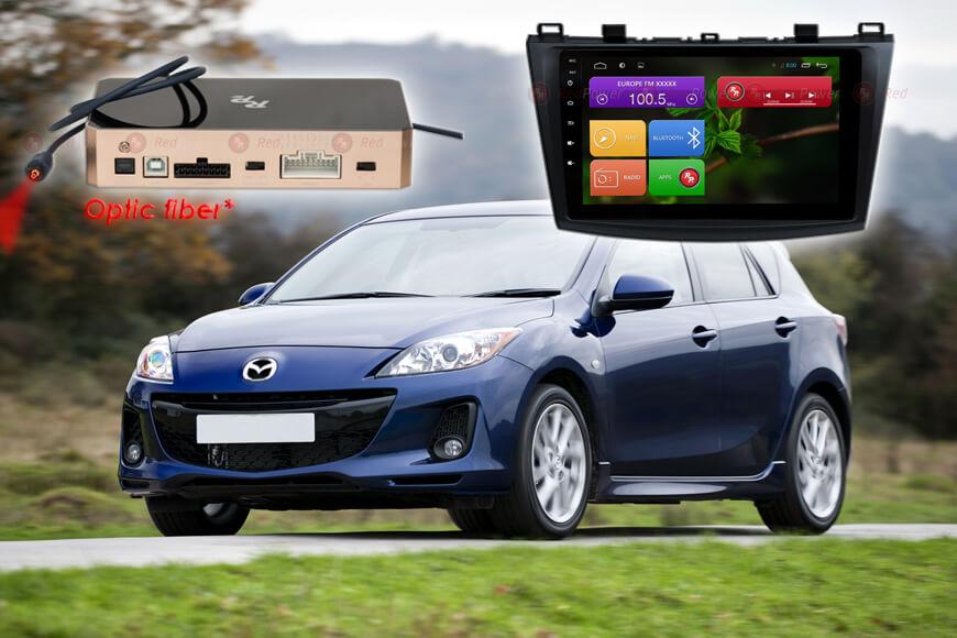 Штатное головное устройство Mazda 3 автомагнитола Redpower 31034 R IPS Android