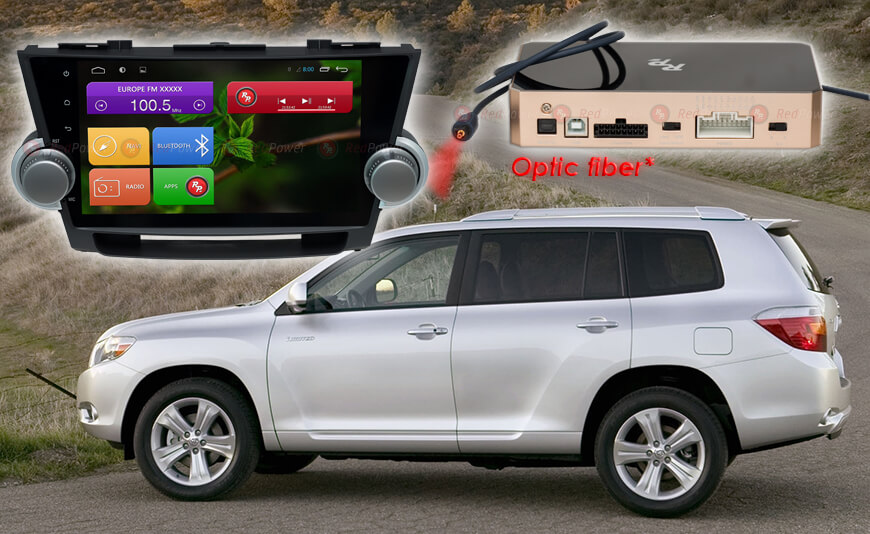 Магнитола Toyota Highlander Redpower 31035 IPS Штатное головное устройство