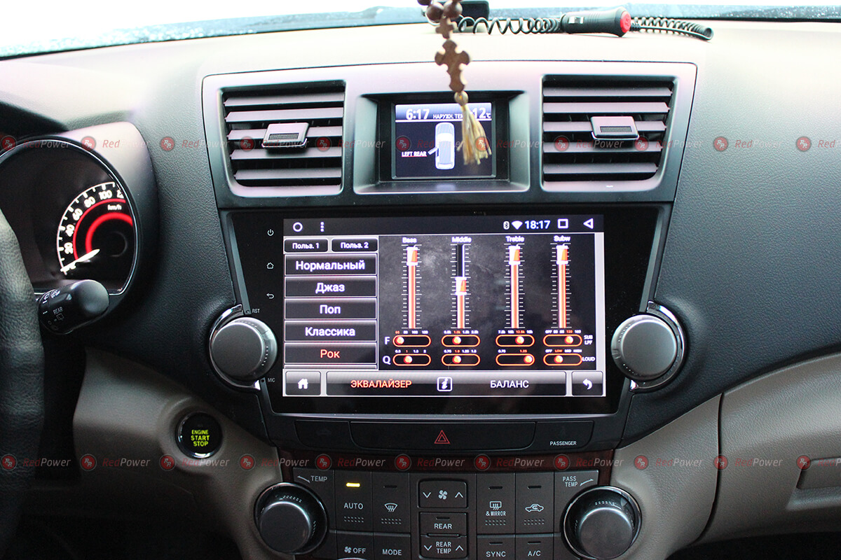 Магнитола Toyota Highlander | Автомагнитолы Тойота Хайлендер на RedPower.ru