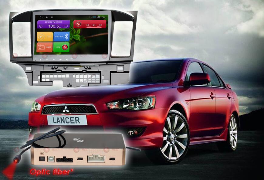 Штатное головное устройство Mitsubishi Lancer автомагнитола Redpower 31037 IPS android