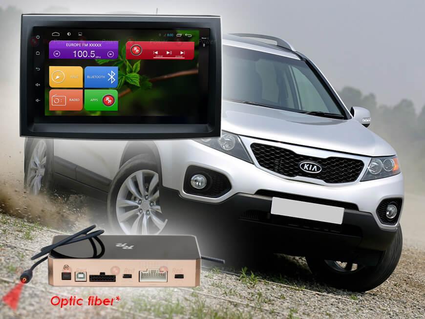 Штатное головное устройство Kia Sorento R1 автомагнитола Redpower 31041 Android
