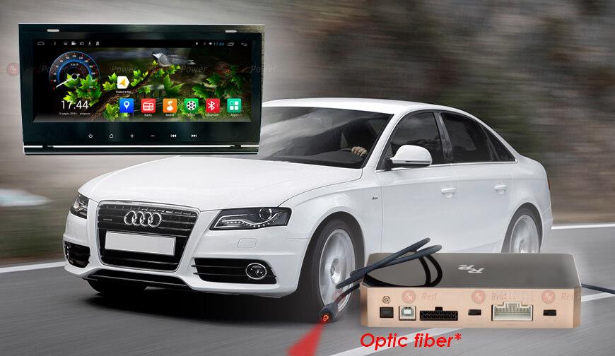 Магнитола Audi A4 автомагнитола Redpower 31050 IPS android