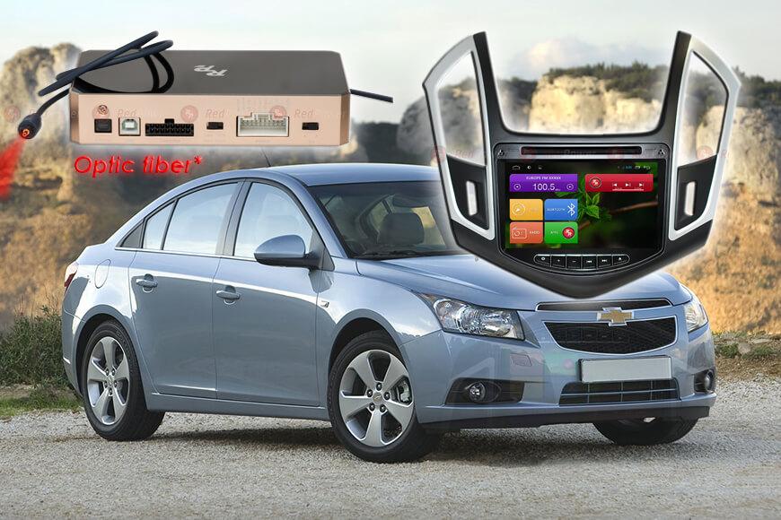 Штатное головное устройство Chevrolet Cruze автомагнитола Redpower 31052 IPS android