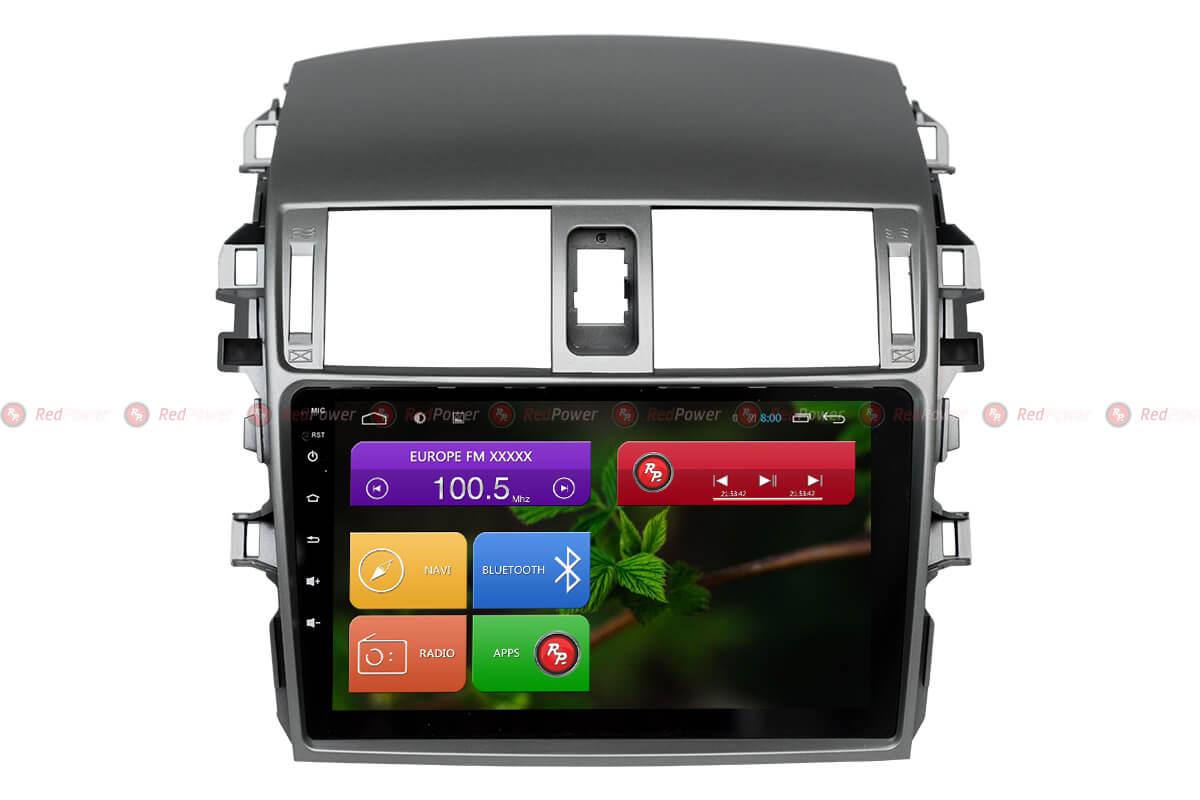 RedPower 31063 R IPS головное устройство штатное toyota corolla