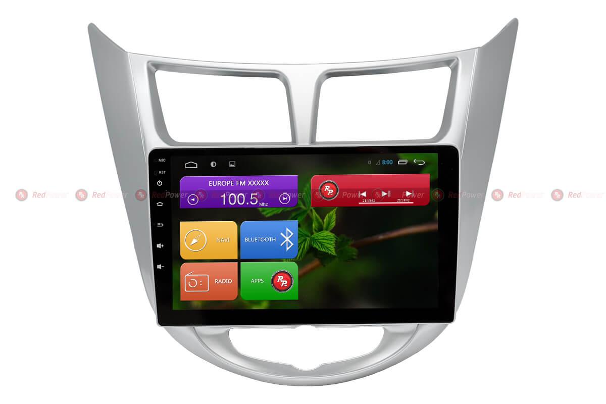 Головное устройство android Hyundai Solaris RedPower 31067 R IPS