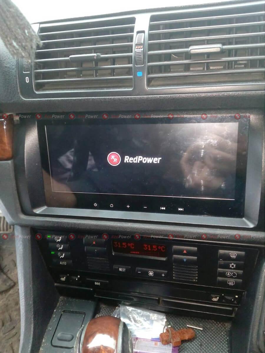 Установка магнитолы RedPower 31083 в E39