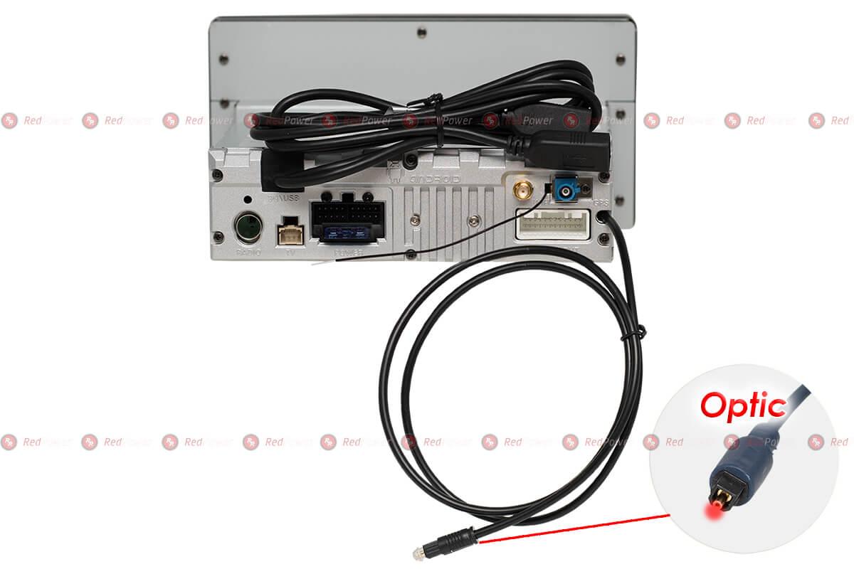 Разъемы магнитол RedPower серии 310