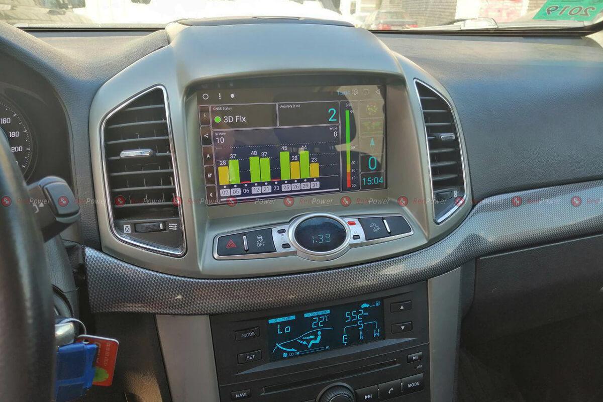 Установленная магнитола для Chevrolet Captiva Redpower 51109 IPS DSP
