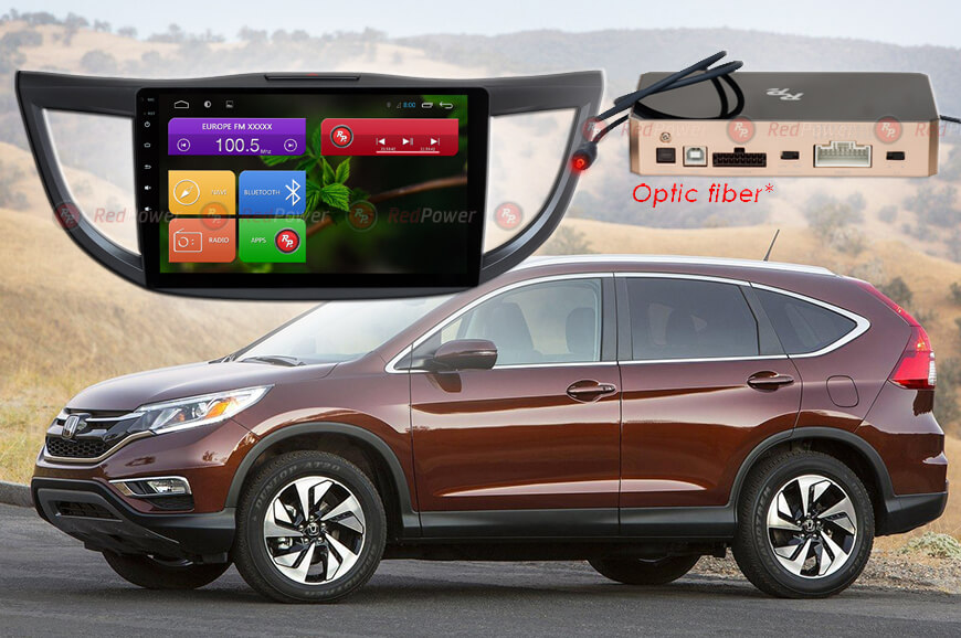 Головное устройство Honda CRV, автомагнитола andoid Redpower