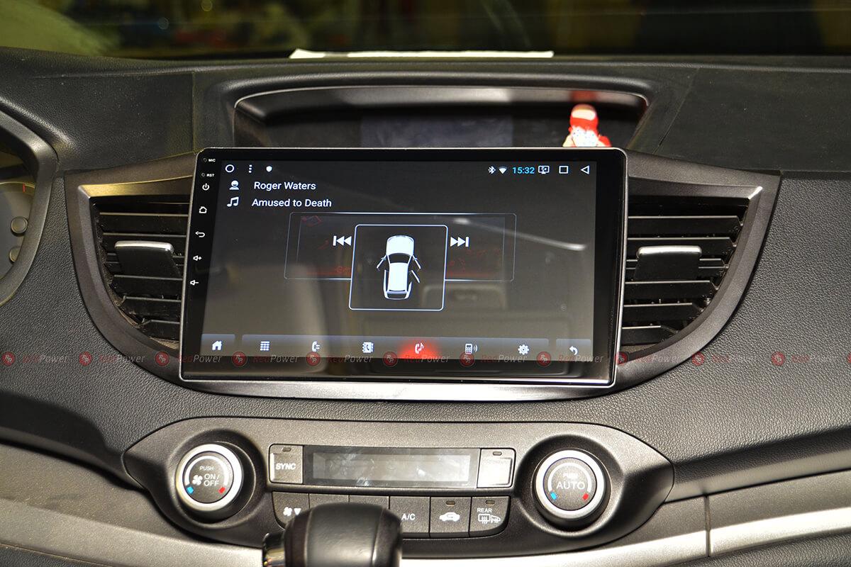 Установка магнитолы RedPower 31111 R IPS DSP в автомобиль Honda CRV