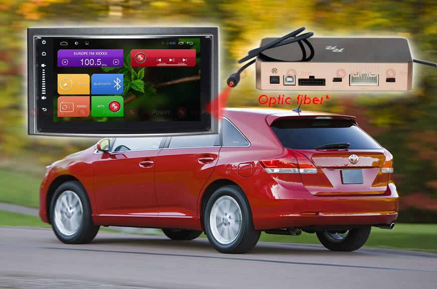Штатное головное устройство Toyota Venza автомагнитола Redpower 31185 IPS android