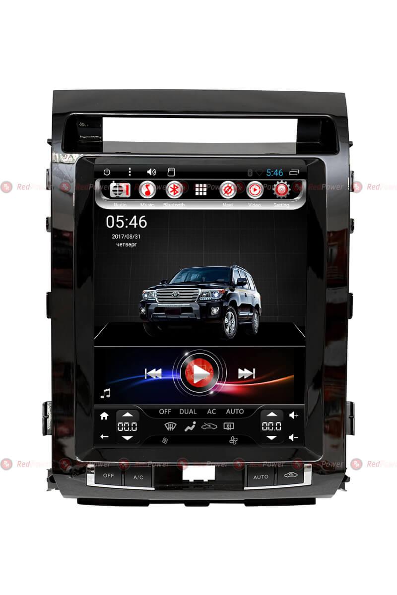 Головное устройство RedPower 31200 TESLA для Тойота Лэндкрузер 200