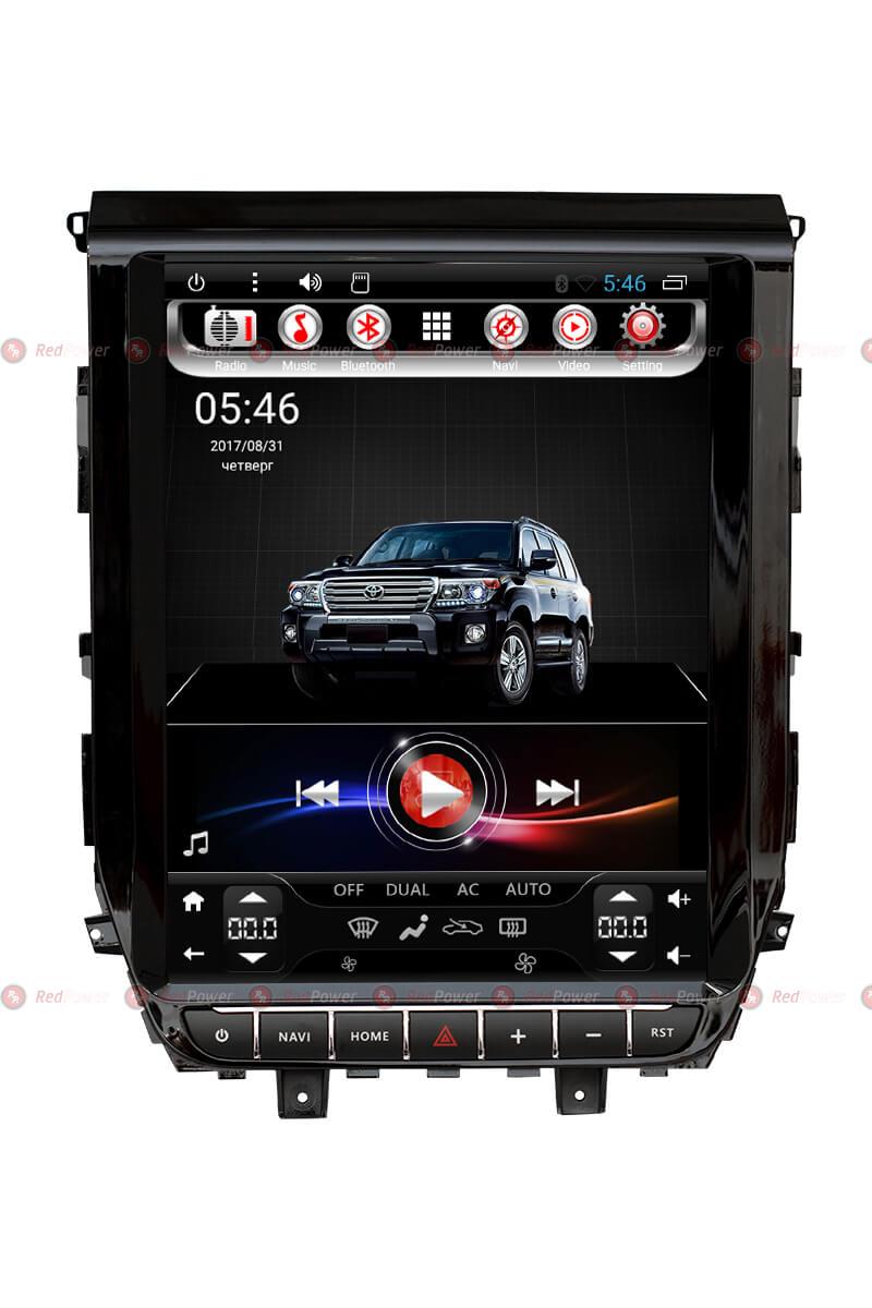 Головное устройство RedPower 31201 TESLA для Тойота Лэндкрузер 200