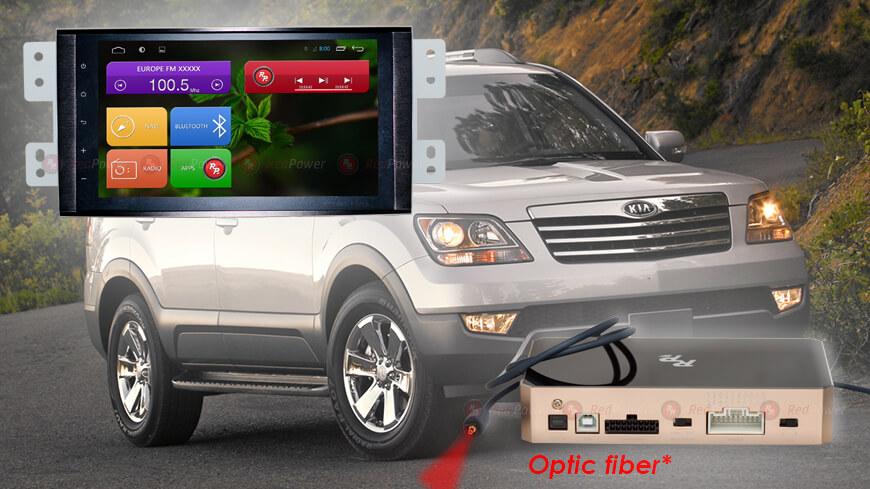 Штатное головное устройство Kia Mohave автомагнитола Redpower 31222 IPS