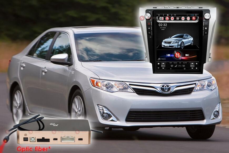 Штатное головное устройство Toyota Camry V55 автомагнитола Redpower 31230 TESLA android