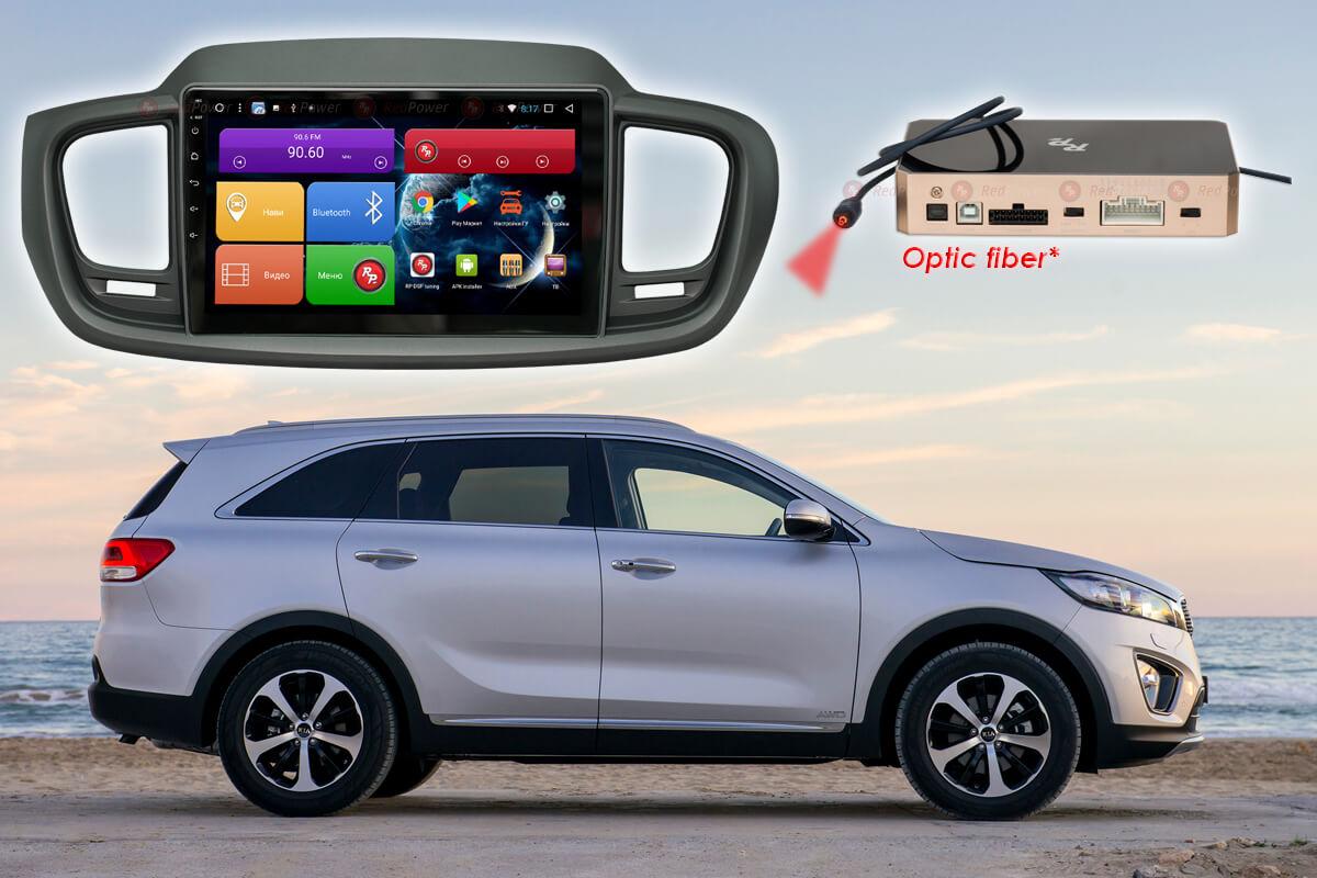Штатное головное устройство Kia Sorento Prime автомагнитола Redpower 31242 R IPS DSP Android