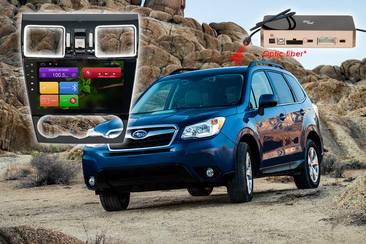 Штатное головное устройство Subaru Forester автомагнитола Redpower 31263 IPS