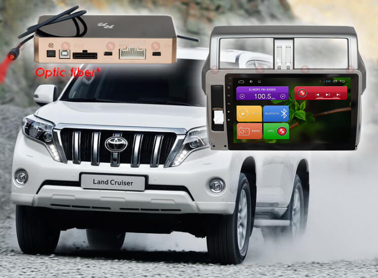 Магнитола для Toyota Prado 150 |  Автомагнитолы для Тойота на RedPower.ru