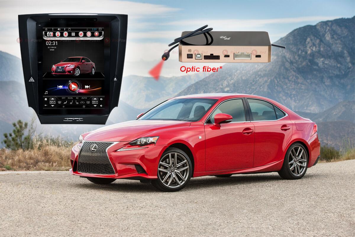 Штатное головное устройство Lexus IS автомагнитола Redpower 31300 TESLA android