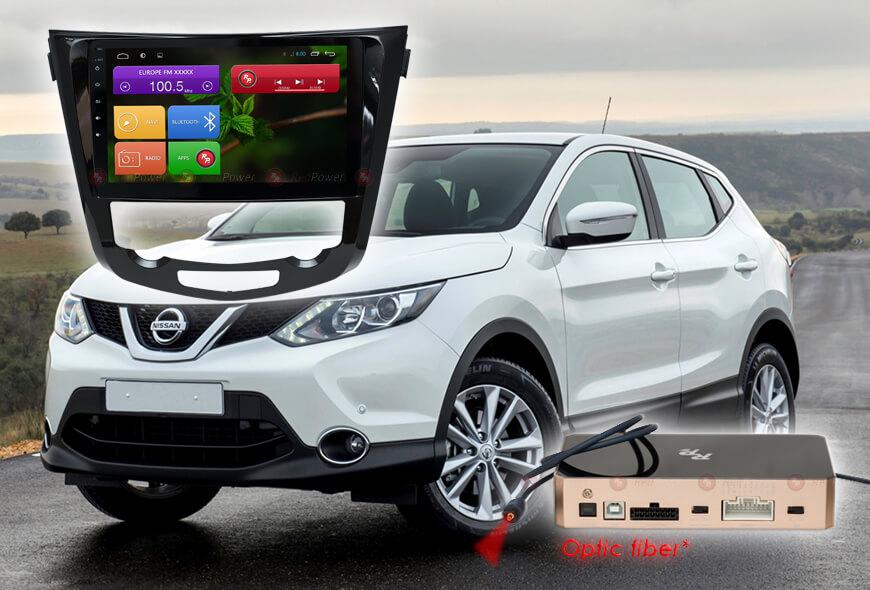 Штатное головное устройство Nissan qashqai, X-trail автомагнитола Redpower 31301 R IPS android