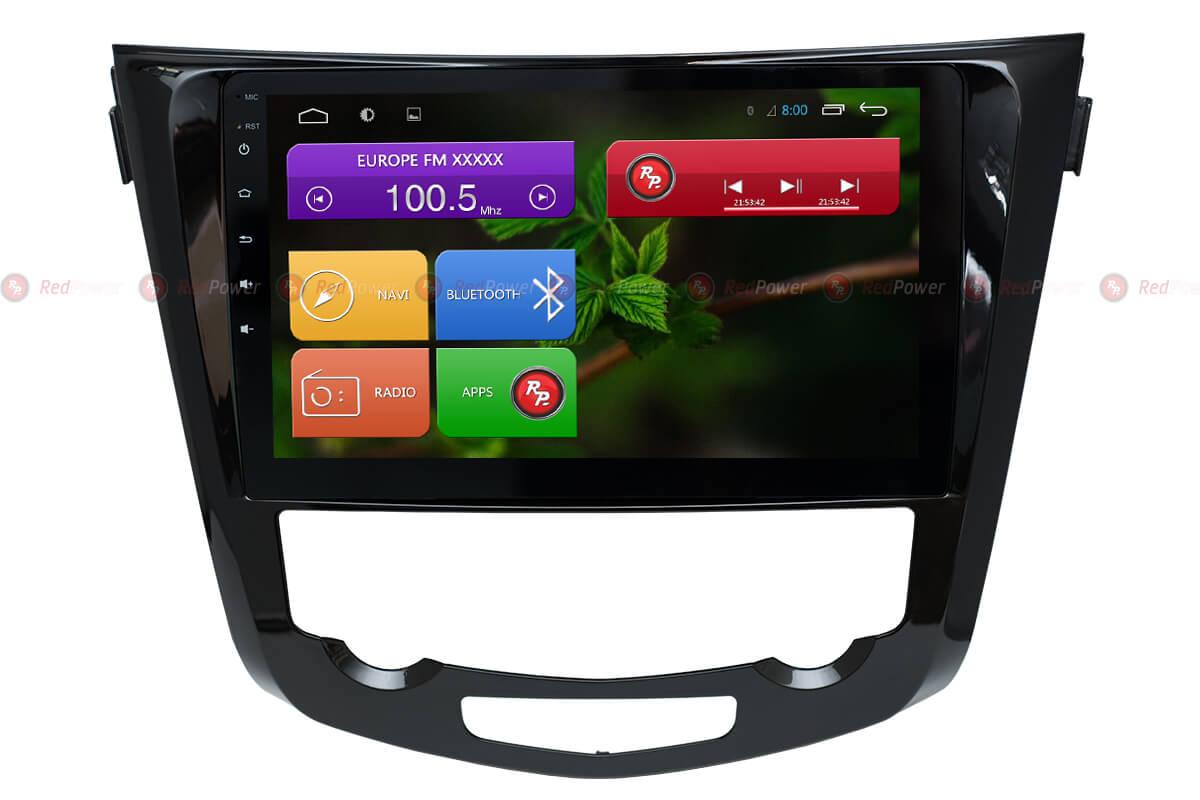Головное устройство RedPower 31301 R IPS на ниссан кашкай, х-трейл