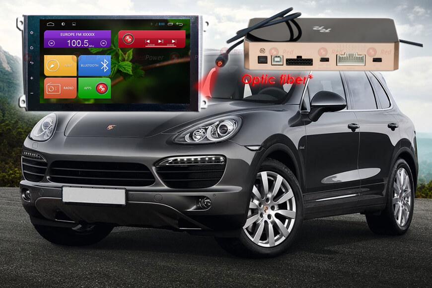 Штатное головное устройство Porsche Cayenne автомагнитола Redpower 31303 IPS android