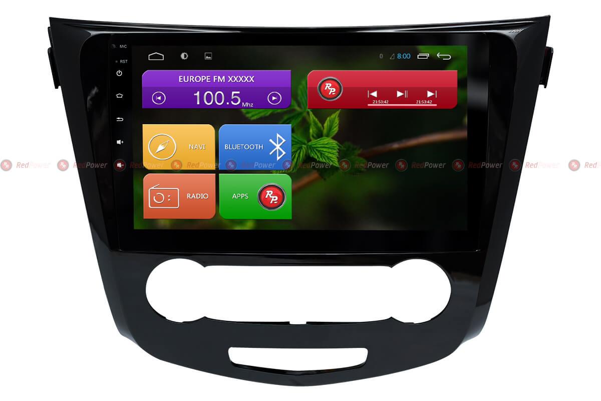 Головное устройство RedPower 31321 R IPS DSP на ниссан кашкай, х-трейл