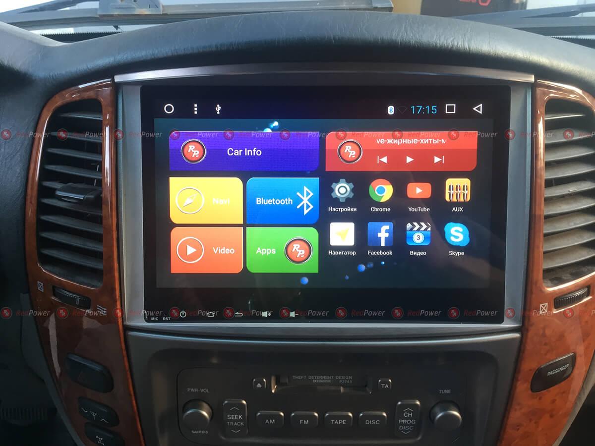 Redpower 31383 IPS в автомобиле