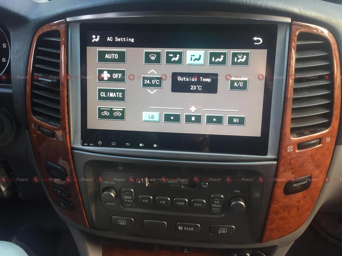 Установка магнитолы Redpower 31383 IPS в автомобиле