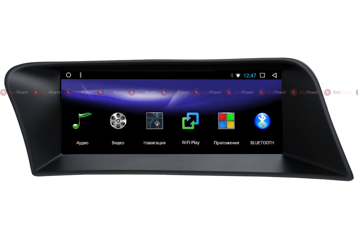Магнитола Lexus RX автомагнитола Redpower 51419 IPS android