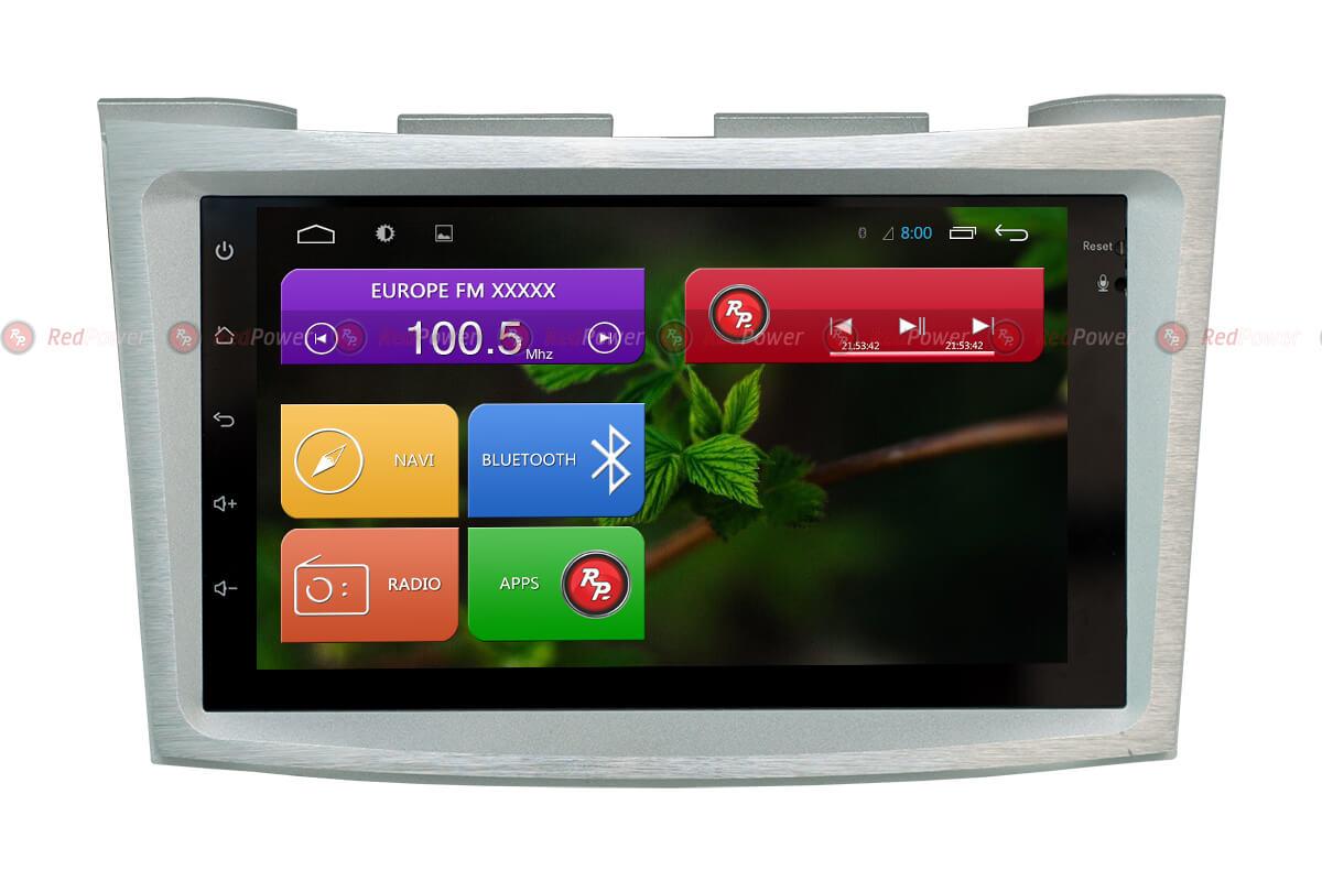 Головное устройство RedPower 31462 на subaru Outback