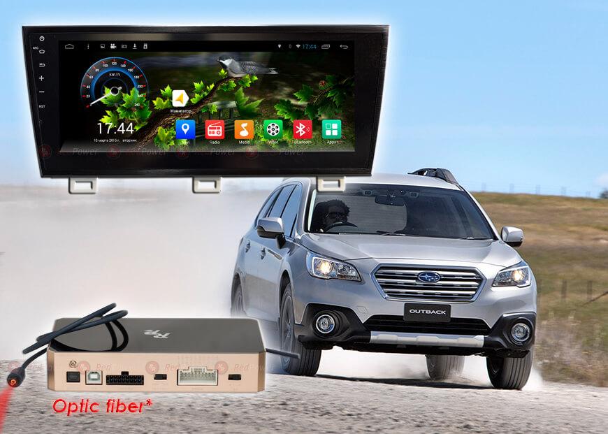 Штатное головное устройство Subaru Outback Redpower 31562 IPS автомагнитола