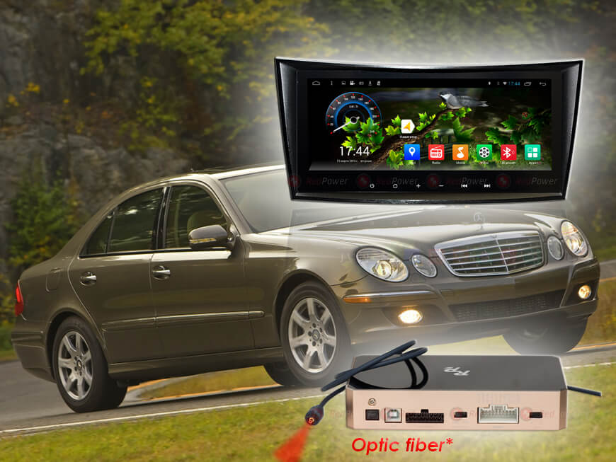 Штатное головное устройство Mercedes Benz E class автомагнитола Redpower 31568 IPS