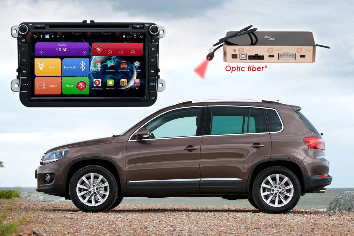 Штатное головное устройство Volkswagen Skoda автомагнитола Redpower 31004 DVD IPS DSP