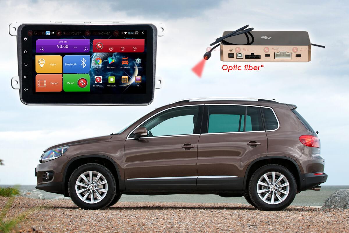 Штатное головное устройство Volkswagen автомагнитола Redpower 51004 IPS DSP на 8'' android