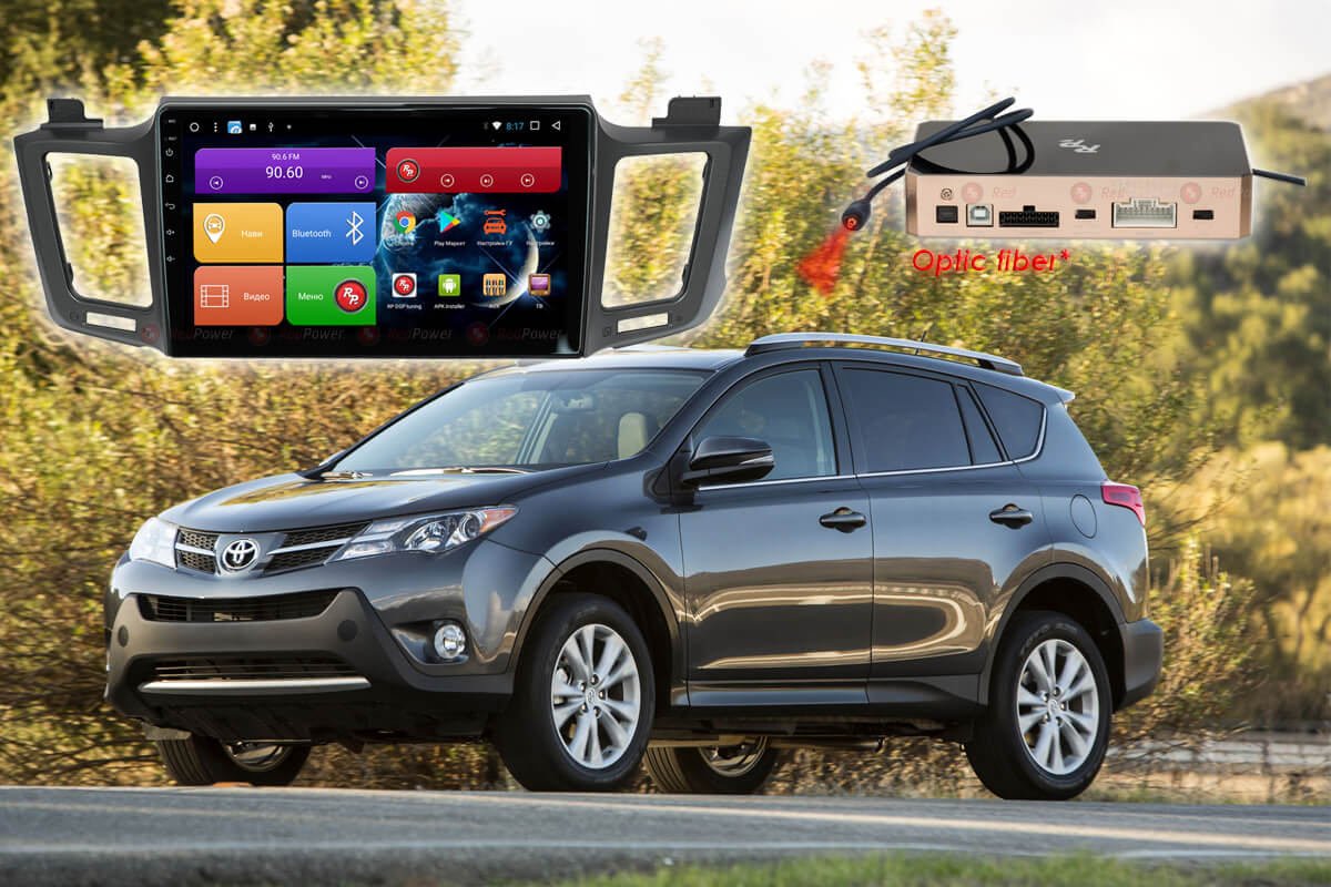Магнитола Toyota Rav4 2012+ автомагнитола Redpower 31017 R IPS DSP Android