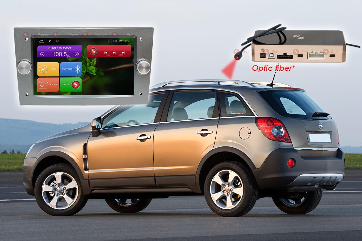Штатное головное устройство Opel автомагнитола Redpower 51019 IPS DSP Android