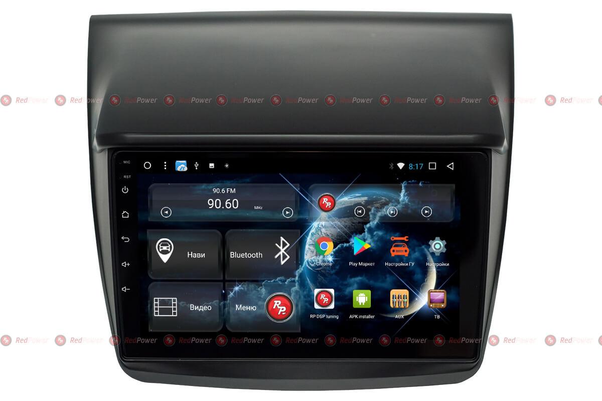 Головное устройство android Митсубиши Л200 RedPower 31038 R IPS DSP