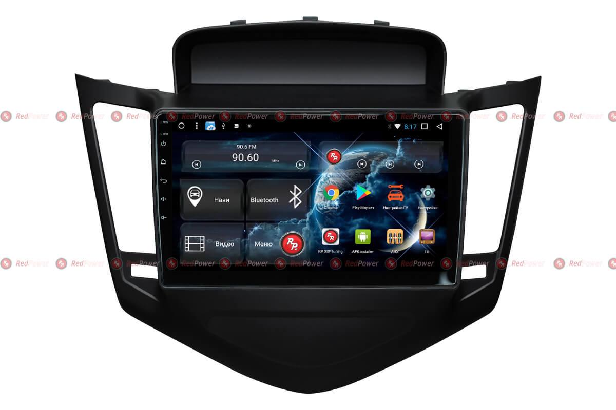 Штатное головное устройство Chevrolet Cruze автомагнитола Redpower 31045 R IPS DSP Android