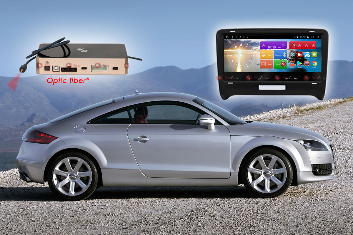 Магнитола Audi TT автомагнитола Redpower 31048 IPS DSP android