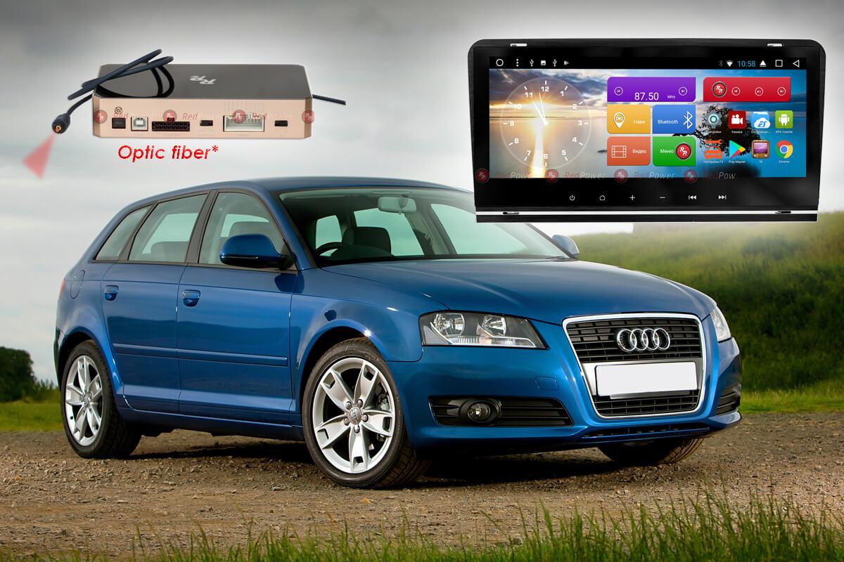 Магнитола Audi A3 автомагнитола Redpower 31049 IPS DSP android