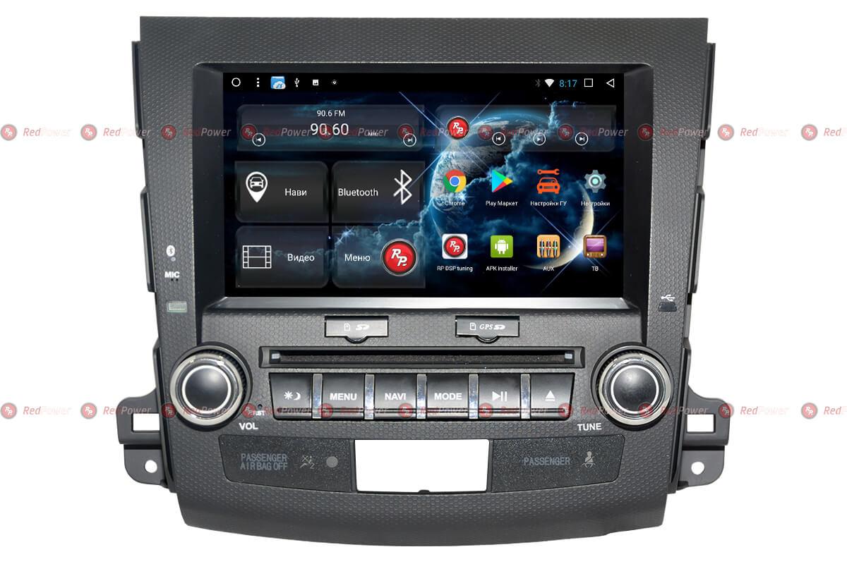 Головное устройство RedPower 31056 IPS DSP для Mitsubishi Outlander, Peugeot 4007, Cotroen C-Crosser