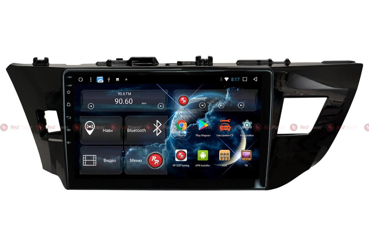 Головное устройство RedPower 31066 R IPS DSP на Toyota Corolla