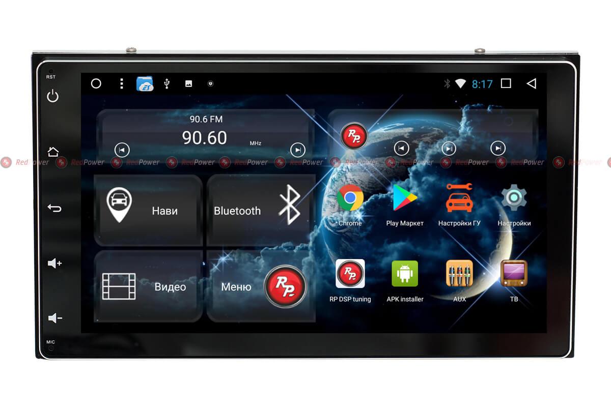 Штатное головное устройство для Тойота Королла, Фортунер. RedPower 31069 IPS DSP