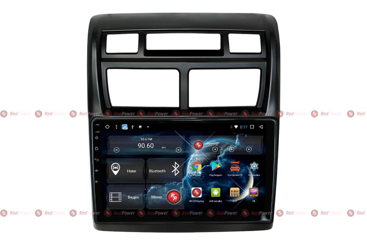 Штатное головное устройство Kia Sportage автомагнитола Redpower 31075 R IPS DSP Android