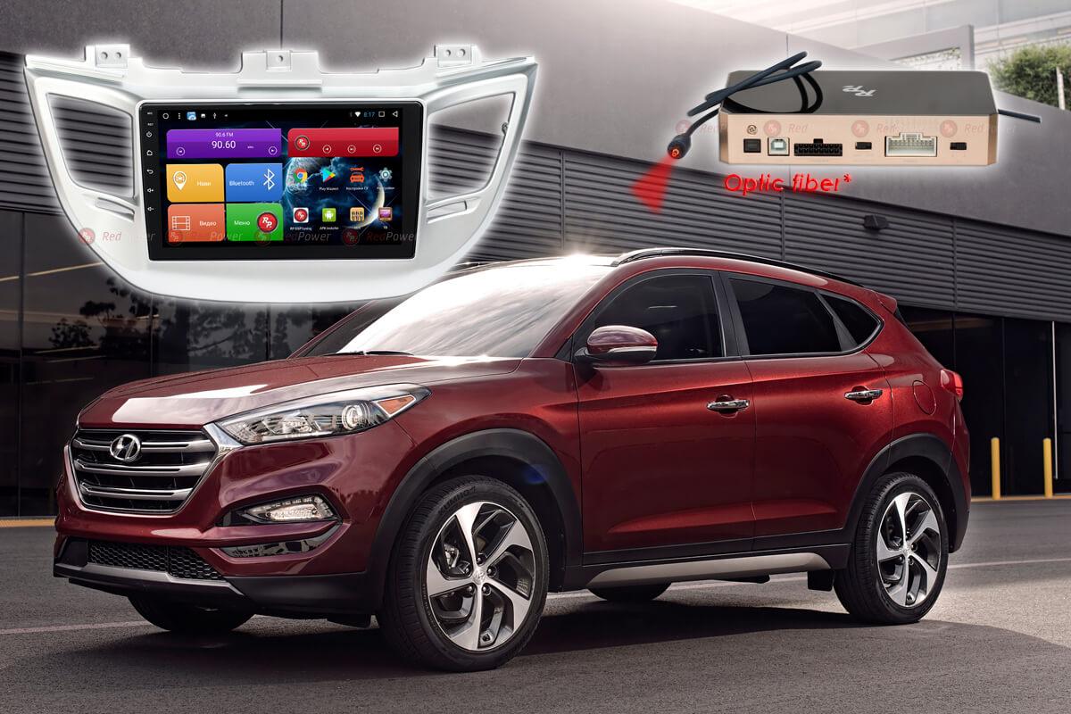 Штатное головное устройство Hyundai Tucson автомагнитола Redpower 51147 R IPS DSP