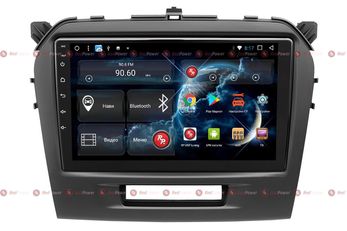Штатное головное устройство Suzuki Vitara автомагнитола Redpower 31153 R IPS DSP android